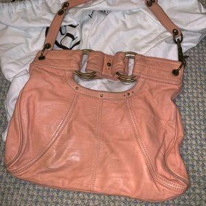 Hayden Harnett Leather Shoulder Bag